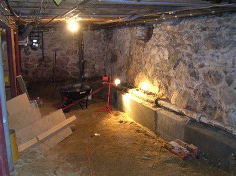 Renovating a 100 year old basement ? Raam Dev