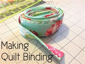 quilt binding the sassy quilter