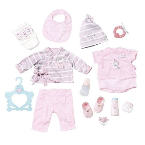 annabelle doll clothes baby annabell deluxe special care doll clothing set toys