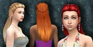 custom contant hair in the sims 4 the sims 4 custom content absolution hair sims community