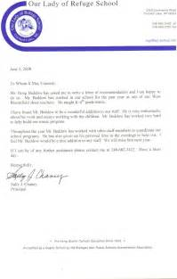 recommendation letter for free bike