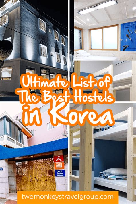 the best hostel in ultimate list of the best hostels in korea