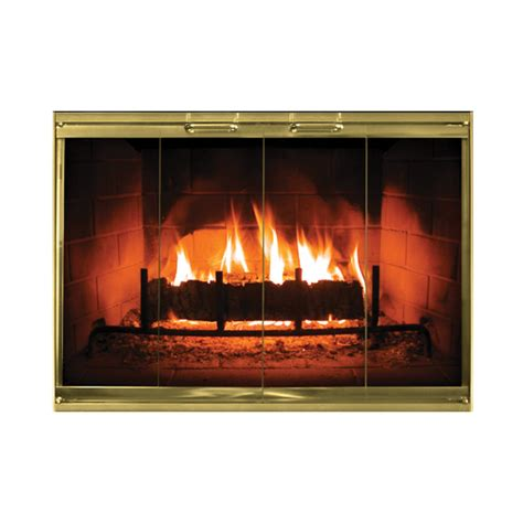 calloway masonry fireplace doors in color options
