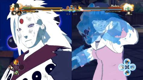 naruto ultimate ninja storm  sasuke  madara naruto  naruto japan expo gameplay