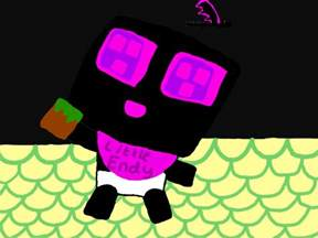 minecraft baby enderman www pixshark com images galleries with a bite