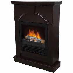 electric fireplace with 26 quot mantle chocolate