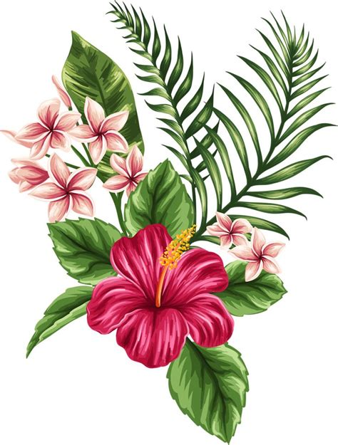 tropical flower tattoo 25 best ideas about hawaiian on