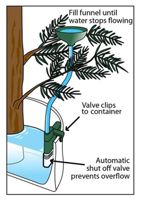 auto stop christmas tree watering system ws02 free