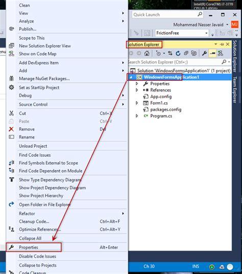 reset user settings visual studio 2012 c how to change language version in visual studio 2015