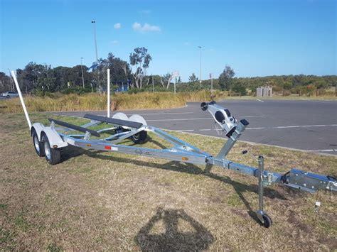 aluminum tandem boat trailers 6 2m tandem aluminum boat trailer koof australia