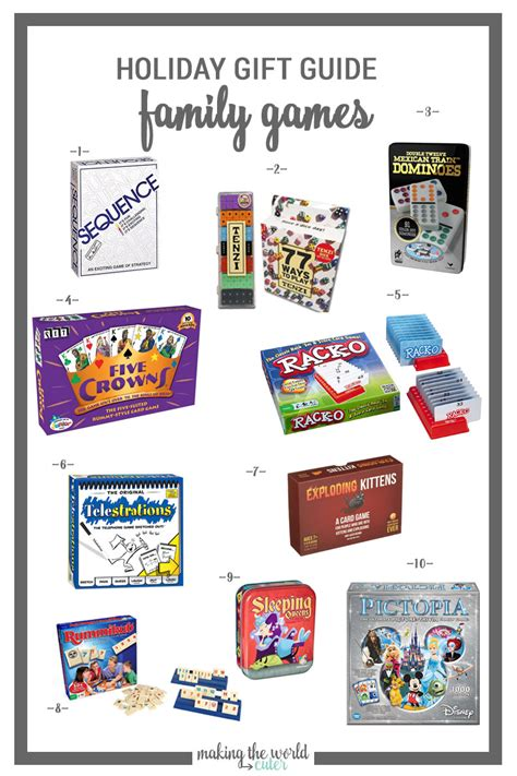 family gift ideas family games gift ideas for holidays birthdays or just