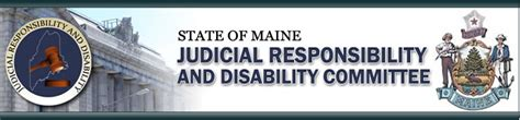 Maine Judicial Search State Of Maine Judicial Responsibility And Disability Committee