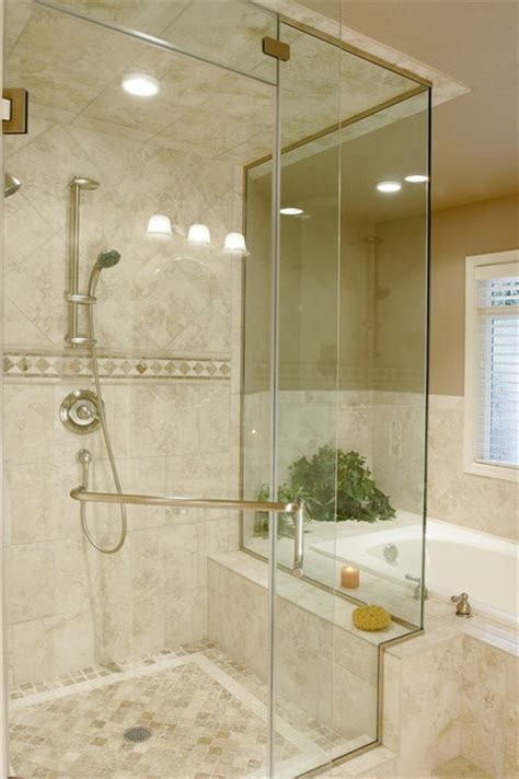 Travertine Tile Bathroom Ideas Traditional Travertine Bathroom Traditional Bathroom