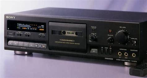 sony tc rx  stereo cassette decks  pinterest