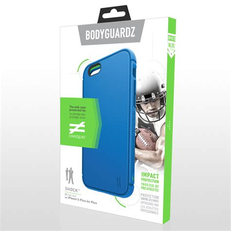 Mac C Shock Product 4 by Bodyguardz Unequal Shock Apple Iphone 6s Blue
