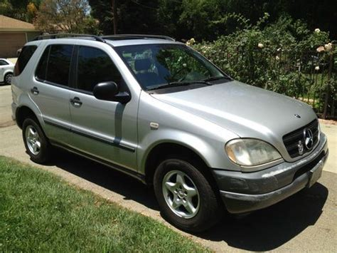 1998 mercedes ml320 find used 1998 mercedes ml320 suv great condition in