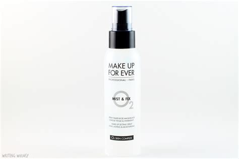 Makeup Forever Mist And Fix make up for mist fix writing whimsy