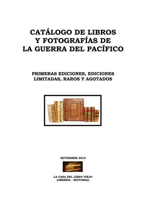libro informe mller calam 233 o libros guerra con chile