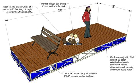 Raptor Deck by Floating Dock Kits Boat Docks For Sale
