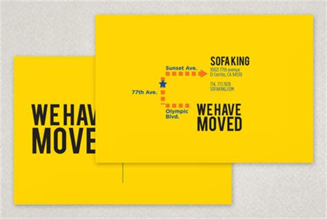 We Have Moved Postcard Template Inkd We Moved Email Template