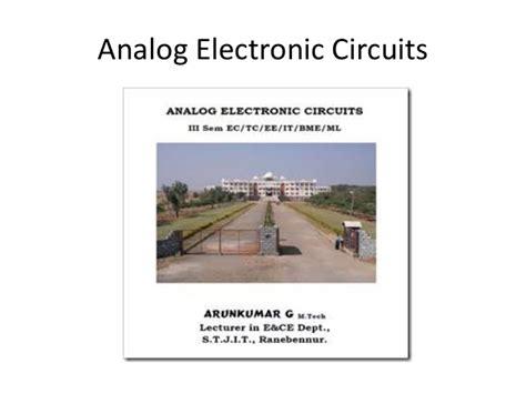 linear integrated circuits arun kumar arun kumar notes for linear integrated circuits 28 images be project report template arun