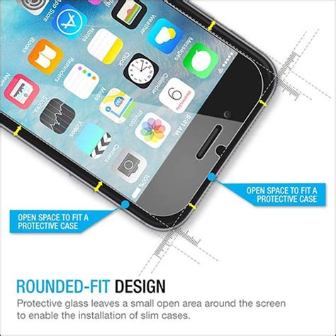 Tempered Glass Std Iphone 6 Iphone 6s 47 Inch Anti Gores Kaca best iphone 6s plus tempered glass screen protectors safeguard for your coveted phone