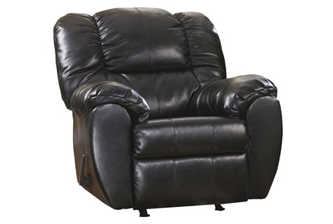 black rocker recliner dylan black rocker recliner living spaces