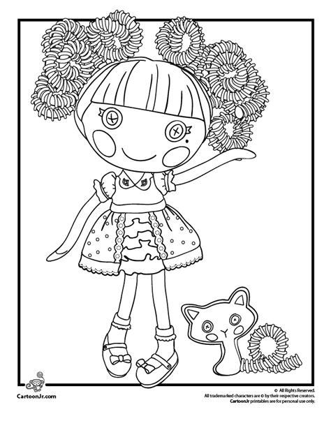 lalaloopsy halloween coloring pages lalaloopsy doll coloring pages woo jr kids activities