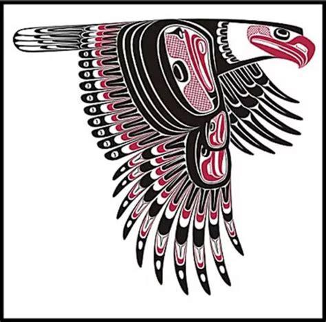 haida native american bird tattoo 57 best haida tattoos images on pinterest animal