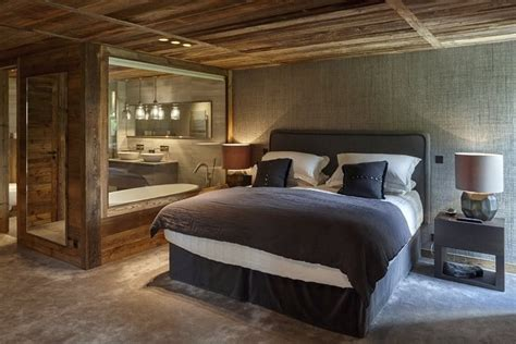 Led Lighting For Home Interiors Refined Chalet Design In The French Ski Resort Home