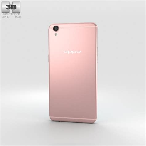 Oppo R9 Connector Original oppo r9 plus gold 3d model hum3d
