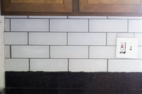 Backsplash Peel And Stick Tips And Tricks For Diy Subway Tile Backsplash Installation