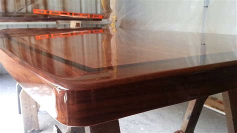 how to finish a wood table table finish true wood design