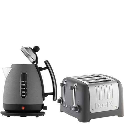 Dualit Kettle And Toaster dualit jug kettle and 4 slot toaster bundle granite iwoot