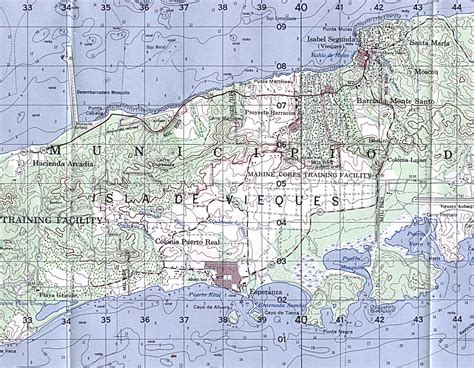 printable map vieques puerto rico maps perry casta 241 eda map collection ut
