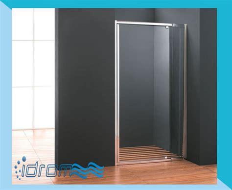 box doccia lineare porta doccia nicchia con anta battente quot cristal