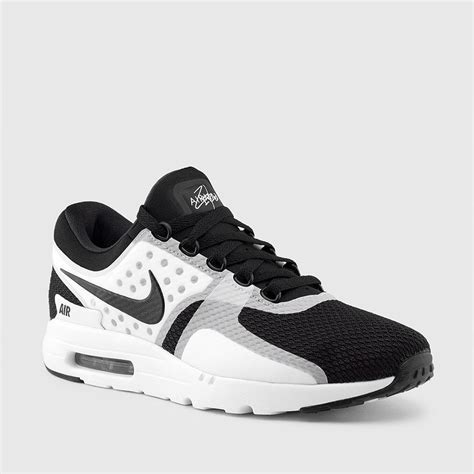 Nike White Black nike s air max zero essential white black