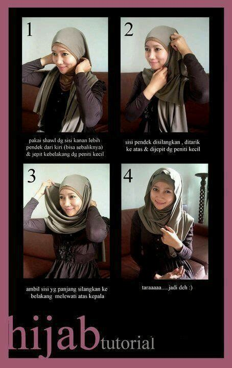 tutorial hijab simple namun elegant simple yet elegant simple tutorial 1 tutorial hijab