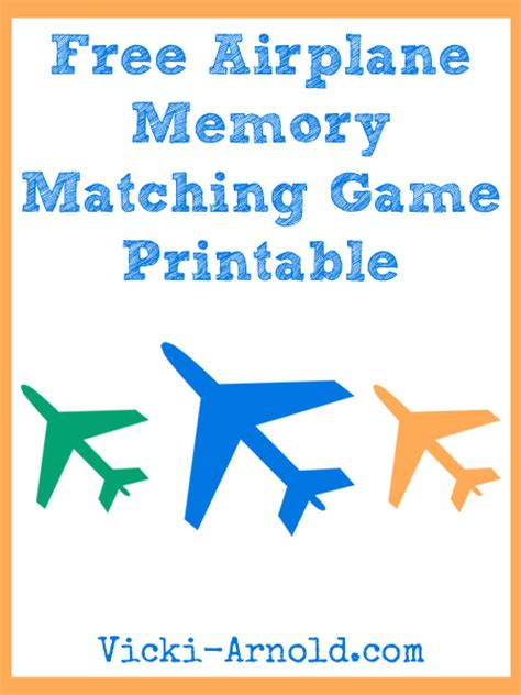 printable games to play on a plane free airplane memory matching game printable airplanes