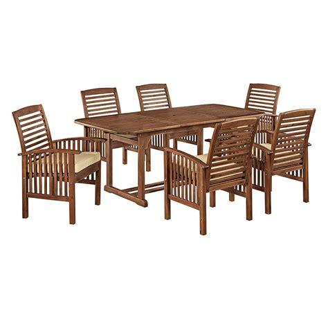 hton bay kapolei 7 wicker outdoor dining set with