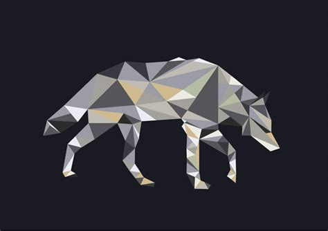 How To Make A Paper Wolf - origami wolf on behance