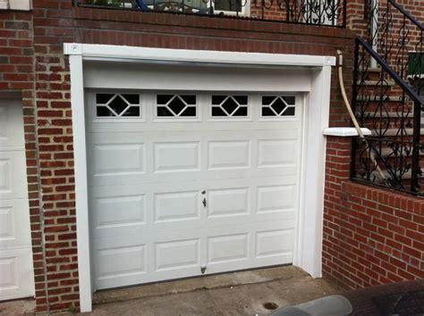 Garage Door Vinyl Trim by Pvc Garage Door Trim Traditional Shed New York