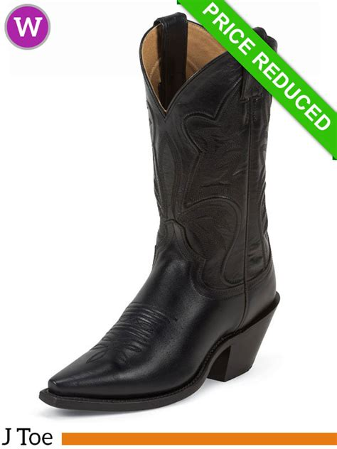 womens justin boots clearance 6 5b justin womens black torino fashion boots 4303 clearance