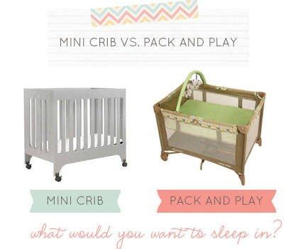Mini Crib Vs Crib Pack N Play Vs Mini Crib Babycenter