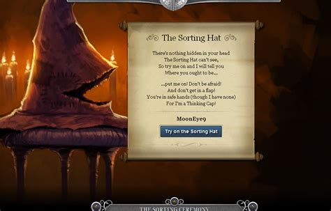 Harry Potter Quiz House by Official Harry Potter House Quiz Pottermore Wroc Awski