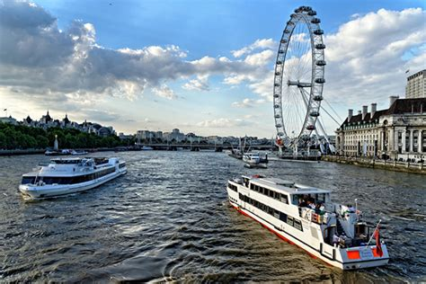 river thames cruise london eye package river thames cruise and 3 course meal for two discount