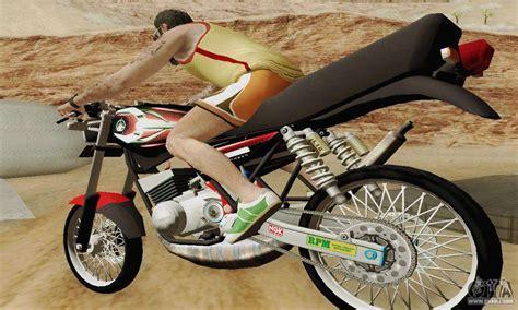 Yamaha Rx King Engine yamaha rx king 135 2008 for gta san andreas