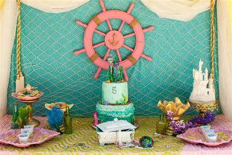 Little Mermaid Bedroom Decor kara s party ideas little mermaid themed birthday party