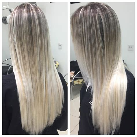 platinum blonde ombre hair icy blondes by heber hair colors ideas