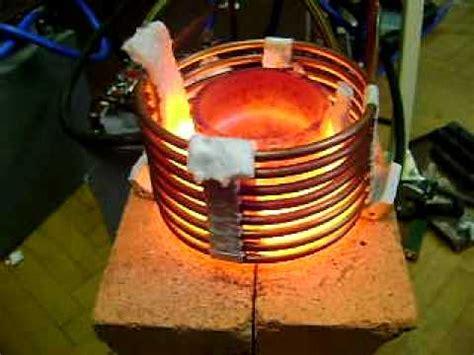 induction heater forge grejanje grafita cca 20 kw i 18 khz vf induction heater grafit and stil